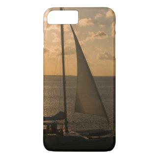 Coque iPhone 7 Plus Les Etats-Unis, le Texas, île du sud d'aumônier.