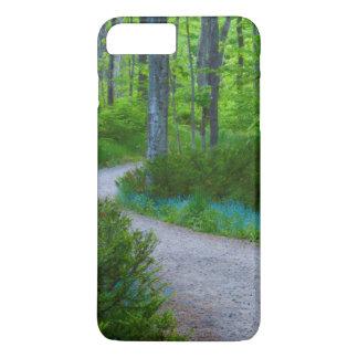 Coque iPhone 7 Plus Les Etats-Unis, Michigan. Chemin à travers les