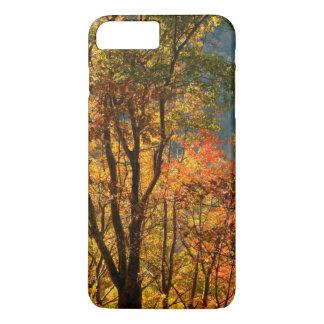 Coque iPhone 7 Plus Les Etats-Unis, Tennessee. Feuillage d'automne