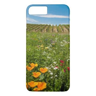 Coque iPhone 7 Plus Les Etats-Unis, Washington, Walla Walla. Fleurs