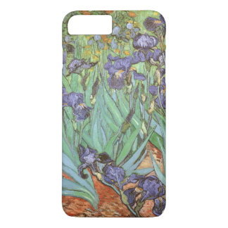 Coque iPhone 7 Plus Les iris par Vincent van Gogh, cru fleurit l'art