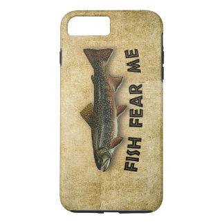 Coque iPhone 7 Plus Les poissons me craignent des sports et récréation
