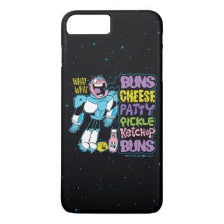 Coque iPhone 7 Plus Les titans de l'adolescence vont ! coup sec et dur