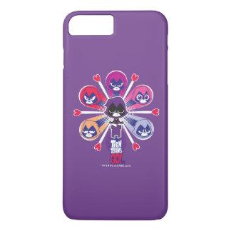 Coque iPhone 7 Plus Les titans de l'adolescence vont ! Emoticlones de