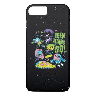 Coque iPhone 7 Plus Les titans de l'adolescence vont ! graphique