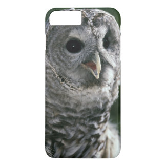 Coque iPhone 7 Plus L'état de Washington des Etats-Unis. Hibou barré
