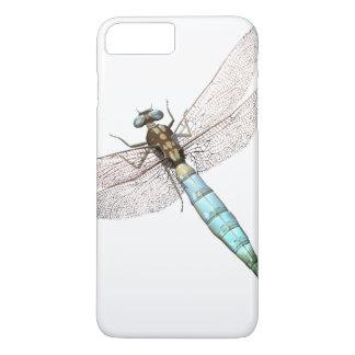 Coque iPhone 7 Plus Libellule de Digitals sur le blanc