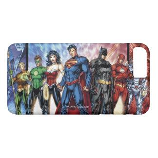 Coque iPhone 7 Plus Ligne de ligue de justice 52 de la ligue de
