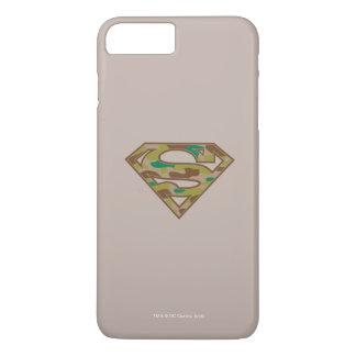 Coque iPhone 7 Plus Logo de camouflage du S-Bouclier   de Superman