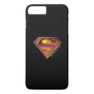 Coque iPhone 7 Plus Logo de réflexion du S-Bouclier | de Superman