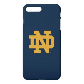 Coque iPhone 7 Plus Logo d'emblème de Notre Dame |