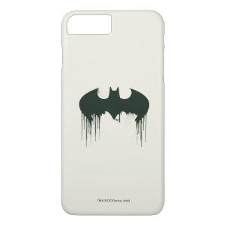 Coque iPhone 7 Plus Logo du symbole | Spraypaint de Batman