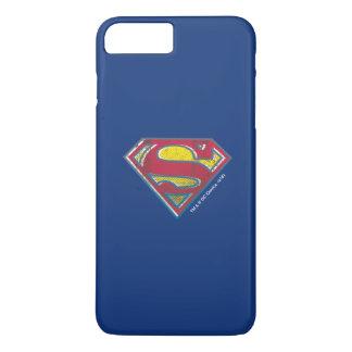 Coque iPhone 7 Plus Logo imprimé par   de S-Bouclier de Superman
