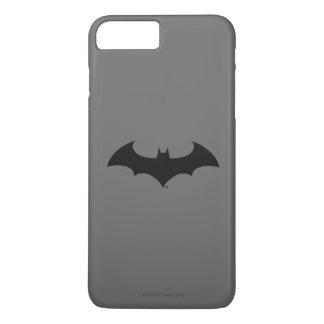 Coque iPhone 7 Plus Logo simple de silhouette de batte du symbole | de