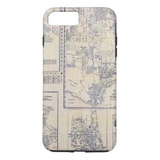 Coque iPhone 7 Plus Los Angeles, la Californie
