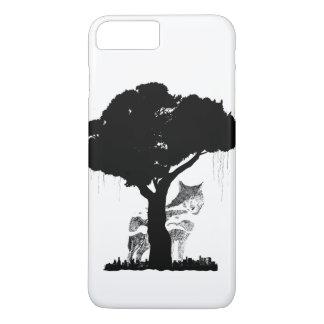 Coque iPhone 7 Plus Loup et la ville