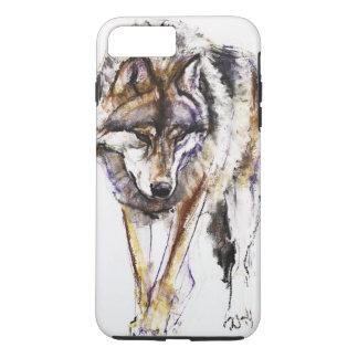 Coque iPhone 7 Plus Loup européen