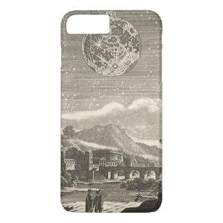 Coque iPhone 7 Plus Lune antique de la Renaissance par le maillet