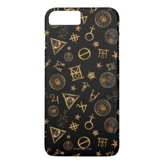 Coque iPhone 7 Plus M.A.C.U.S.A. Symboles et motif magiques de crêtes