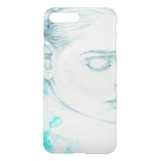Coque iPhone 7 Plus Madame assez victorienne In Blue