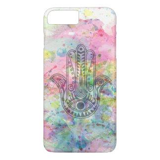 Coque iPhone 7 Plus Main de HAMSA de symbole de Fatima