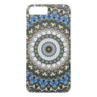 Coque iPhone 7 Plus Mandala coloré fleuri