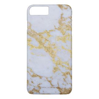 Coque iPhone 7 Plus Marbre moderne à la mode impressionnant de