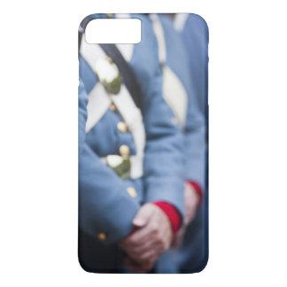 Coque iPhone 7 Plus Marines civiles de Guerre-ère des USA, militaires