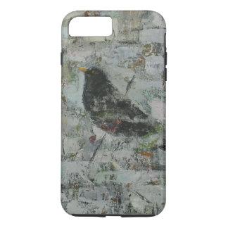 Coque iPhone 7 Plus Merle dans l'arbre