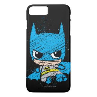 Coque iPhone 7 Plus Mini croquis de Batman