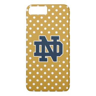 Coque iPhone 7 Plus Mini pois de Notre Dame |