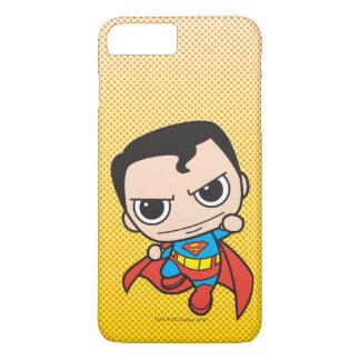 Coque iPhone 7 Plus Mini Superman pilotant 2