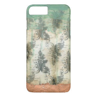 Coque iPhone 7 Plus Modern Fleur De Lis Design