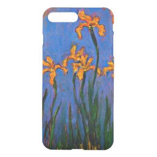 Coque iPhone 7 Plus Monet - iris jaunes