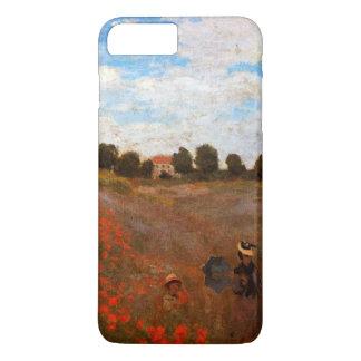 Coque iPhone 7 Plus Monet - pavots sauvages