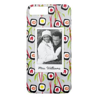 Coque iPhone 7 Plus Monogramme du motif | de conception de sushi