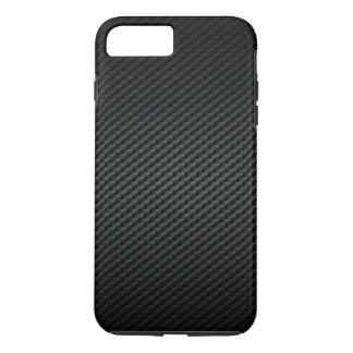 Coque iPhone 7 Plus Moteur classique emballant la fibre de carbone