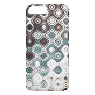 Coque iPhone 7 Plus Motif arrondi coloré de rayures
