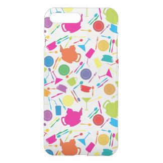 Coque iPhone 7 Plus Motif avec la substance de cuisine colorée
