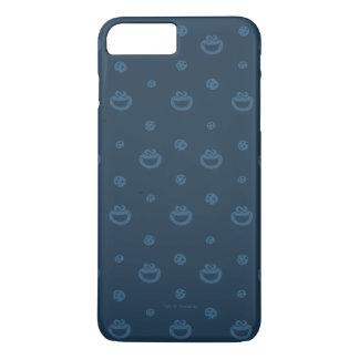 Coque iPhone 7 Plus Motif bleu de monstre de biscuit et de marine de
