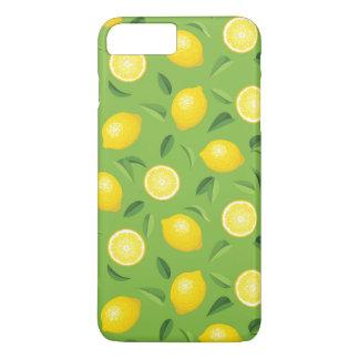 Coque iPhone 7 Plus Motif d'arrière - plan de citrons