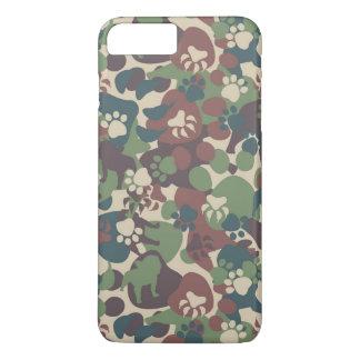 Coque iPhone 7 Plus Motif de camouflage de chien
