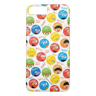 Coque iPhone 7 Plus Motif de caractère de cercle de Sesame Street