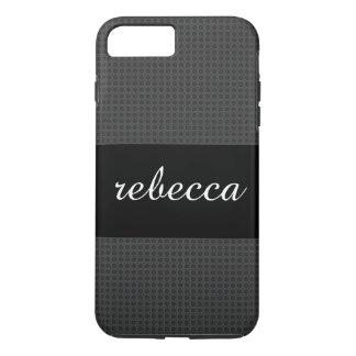 Coque iPhone 7 Plus motif de fibre de carbone