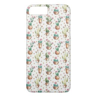 Coque iPhone 7 Plus Motif de fleur d'étape | de fleur de désert