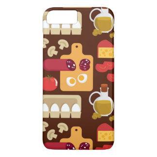 Coque iPhone 7 Plus Motif de pizza