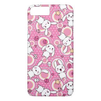 Coque iPhone 7 Plus motif de rose de kawaii