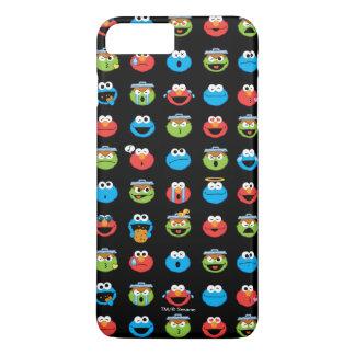 Coque iPhone 7 Plus Motif d'Emoji de copains de Sesame Street