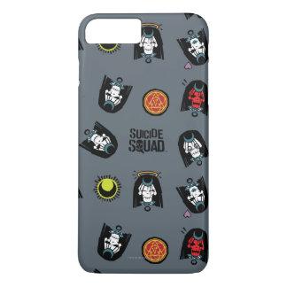 Coque iPhone 7 Plus Motif d'Emoji d'enchanteresse du peloton | de