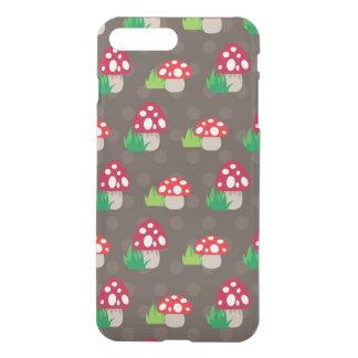 Coque iPhone 7 Plus motif d'enfants de champignon